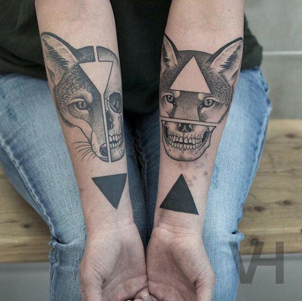 tatuajes simétricos 20