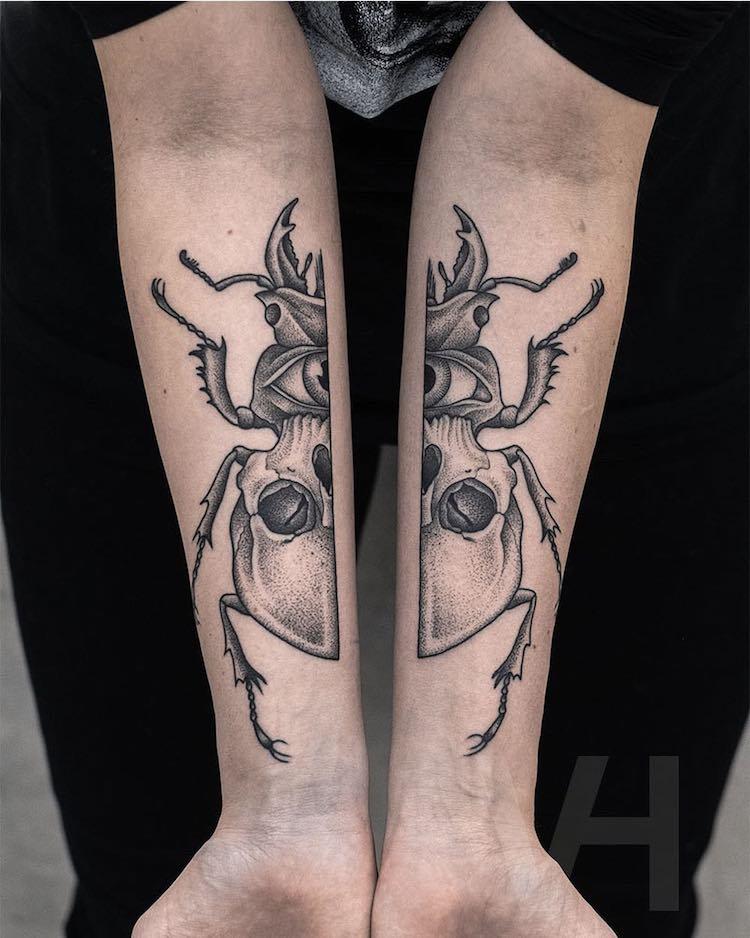 tatuajes simétricos 3