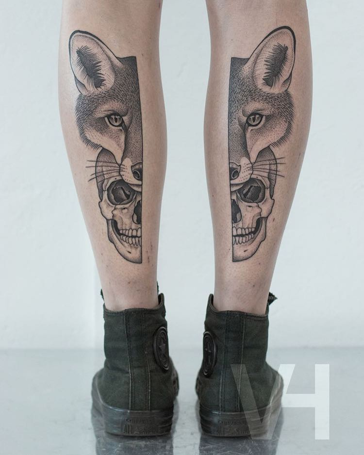 tatuajes simétricos 4