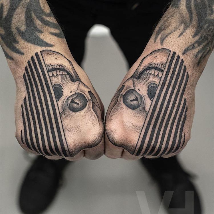 tatuajes simétricos 8
