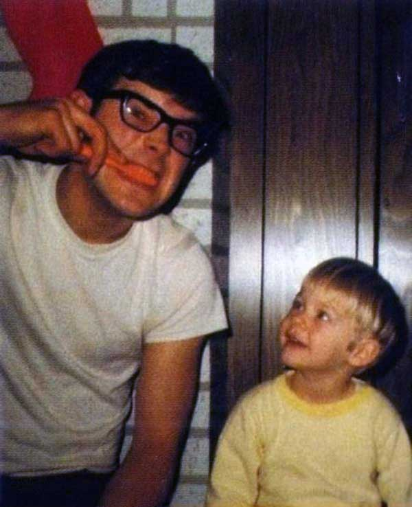 kurt cobain y su padre