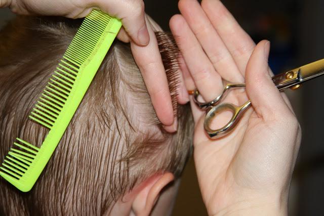 cortar el pelo a un niño tutorial