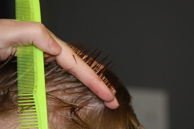 cortar el pelo a los niños fácilmente