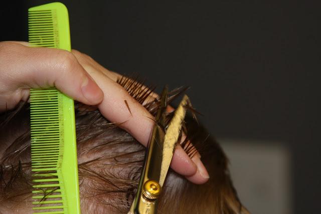 cortar el pelo a niños bien