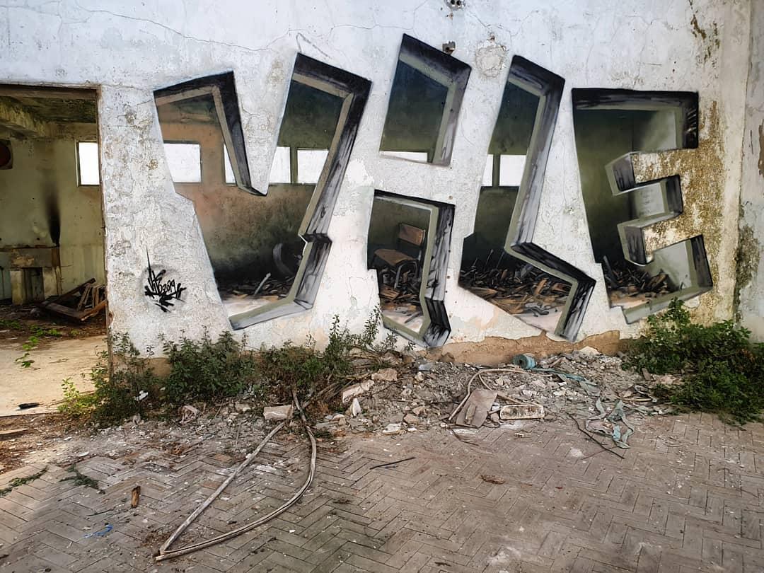 escritor de graffitis vile