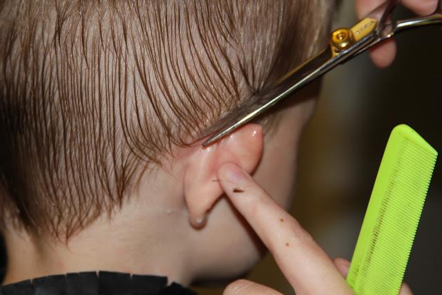 cortar el pelo a los niños trucos