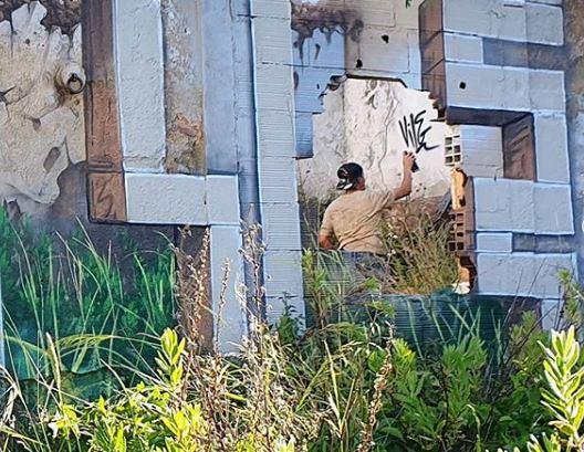 instagram vile artista del graffiti