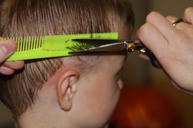 peinar a un niño sin ir a la peluquería