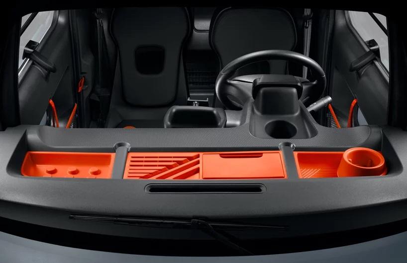 salpicadero coche eléctrico mini