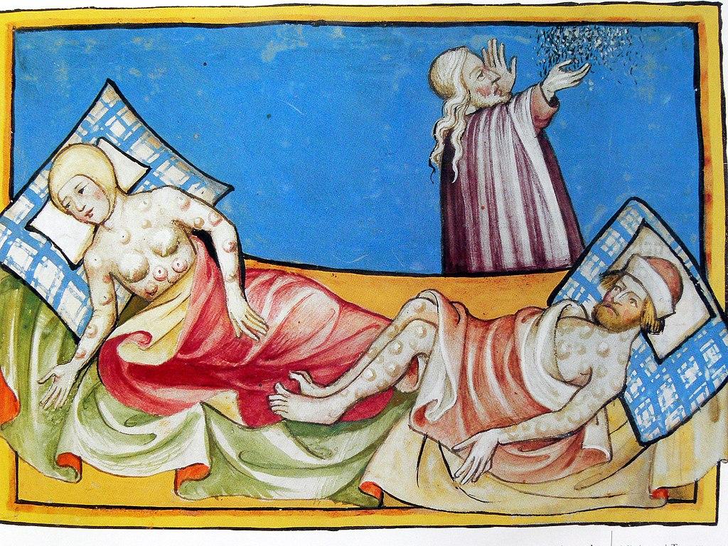 la peste en la Biblia de Toggenburg