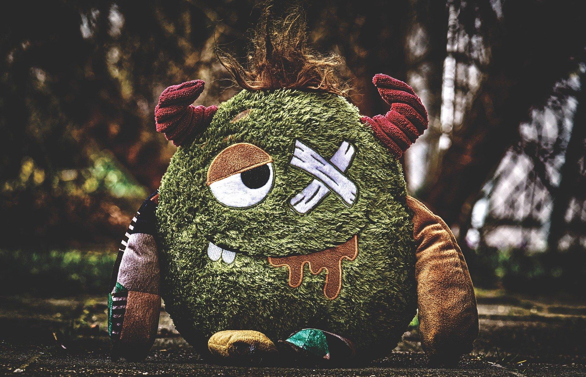 monstruo juguete