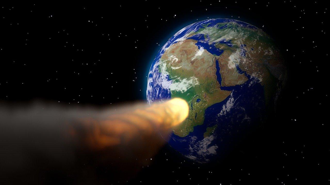 astronomía noticias colisión con la tierra