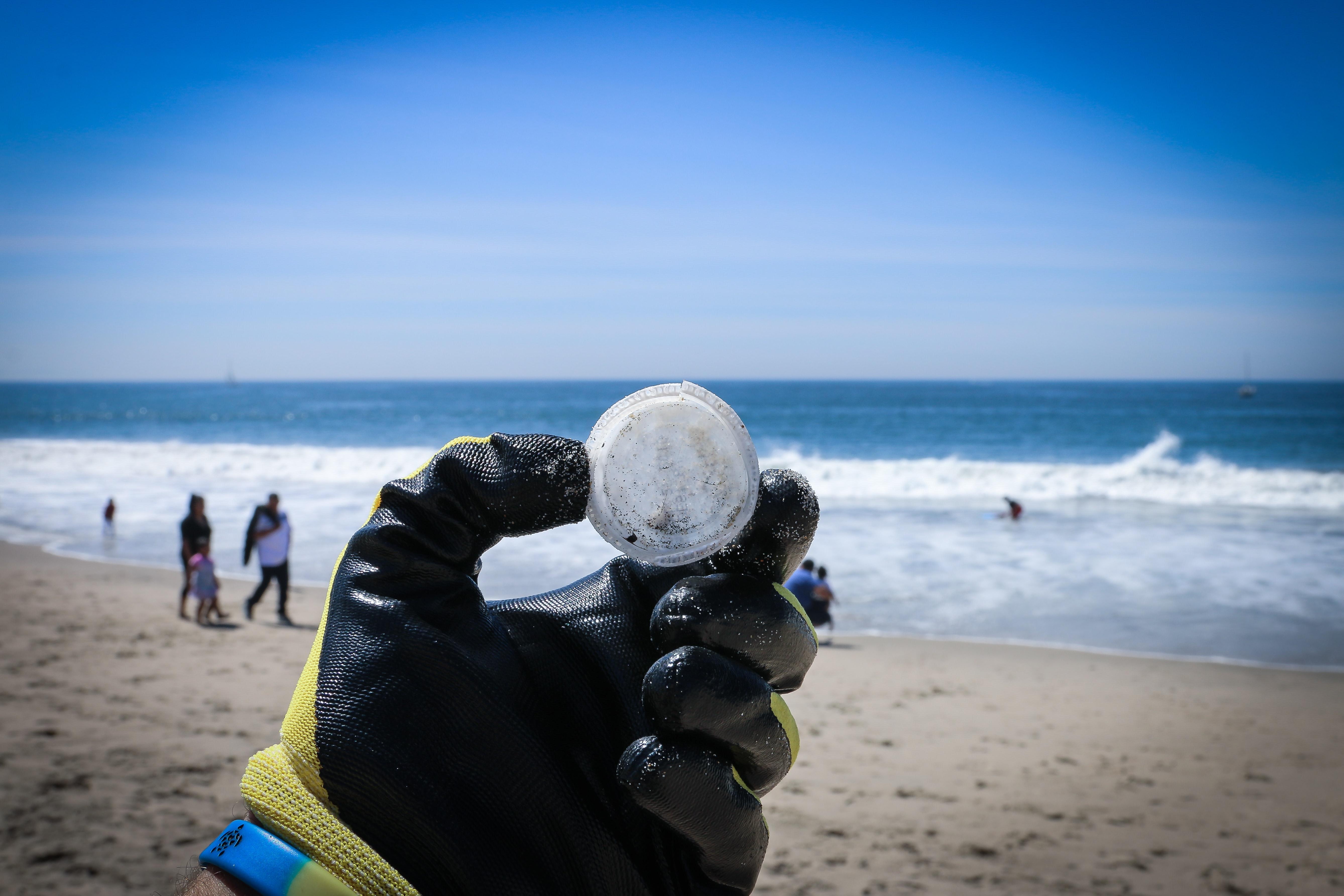 microplásticos en el mar