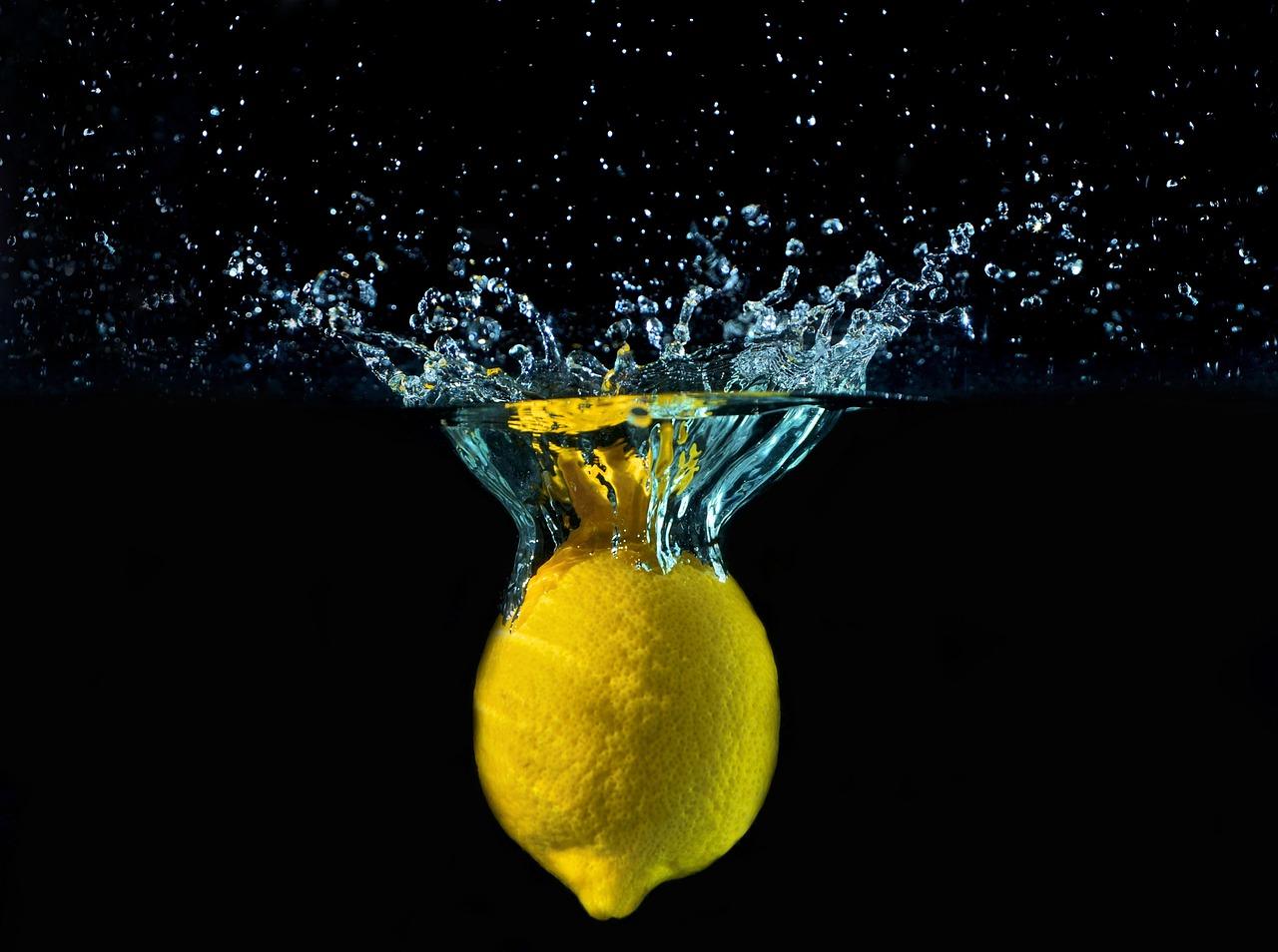 limón agua oxigenada
