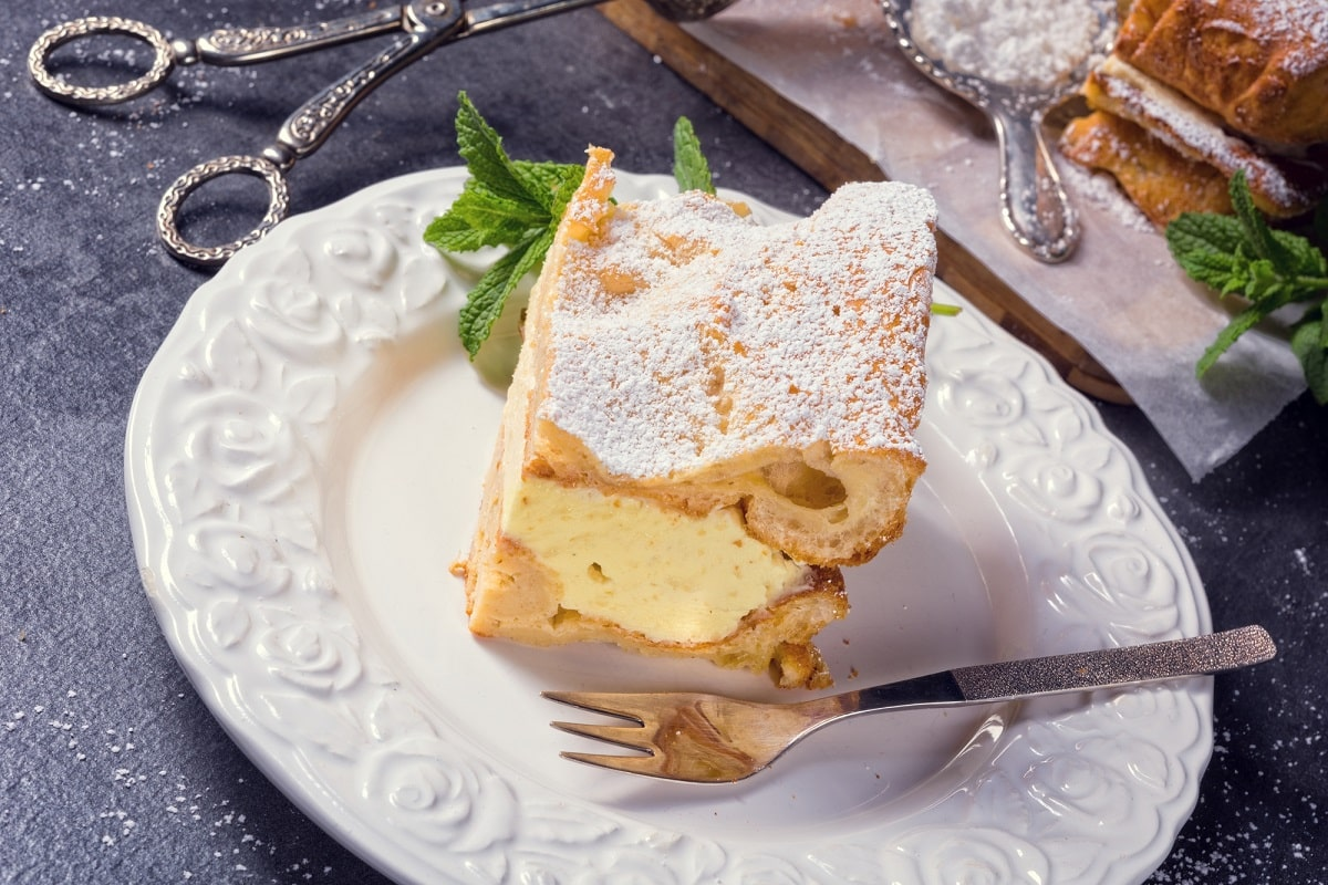 Tarta de crema Karpatka