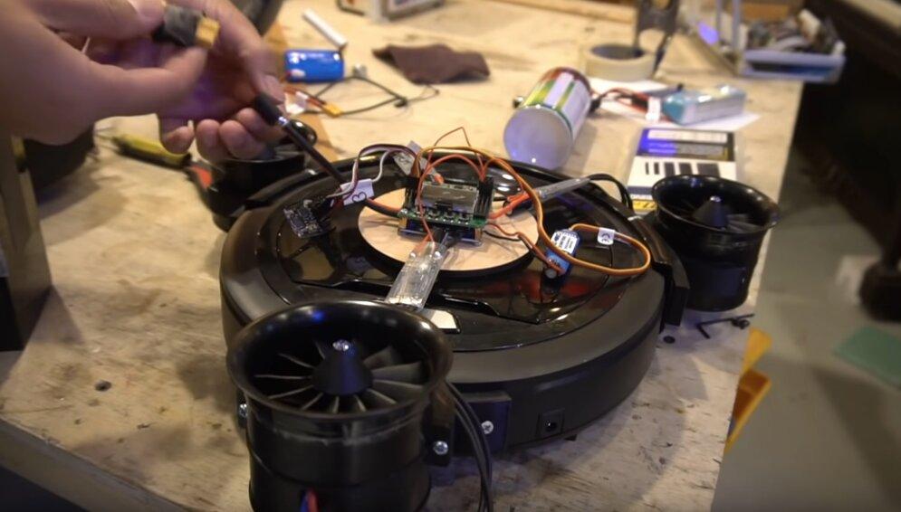 aspirador dron