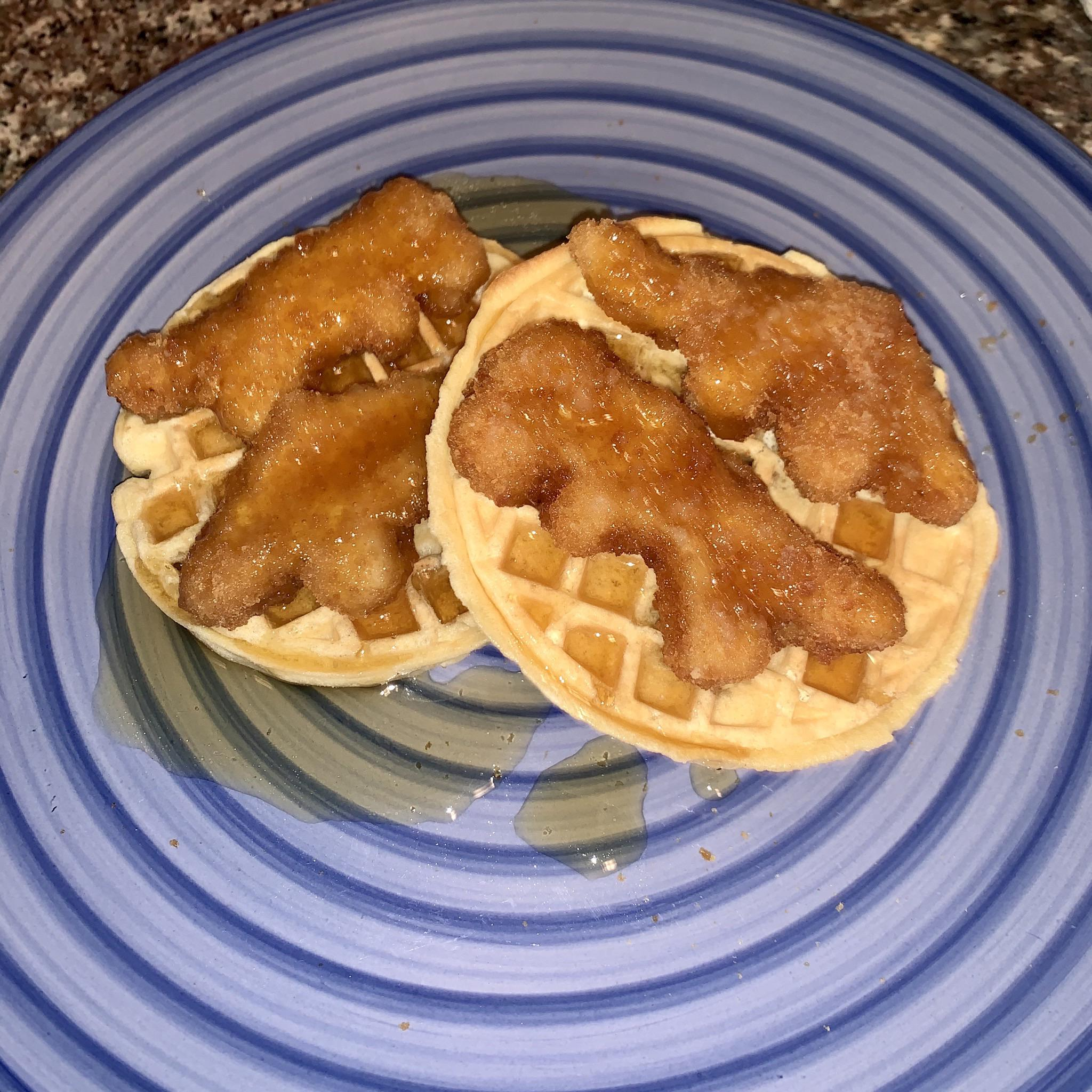 waffles con pollo recetas tronchantes