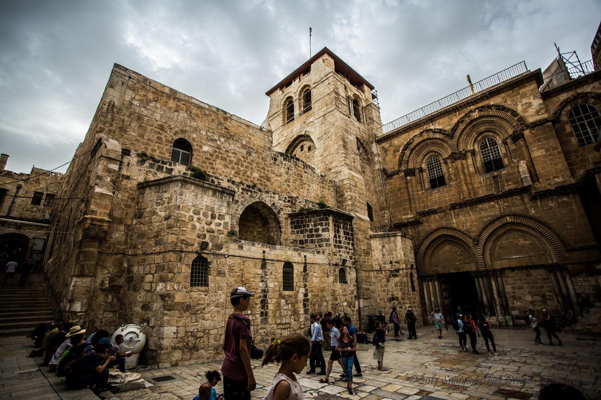 Foto ampliada de la iglesia