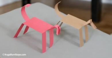 caballos de papel caminantes