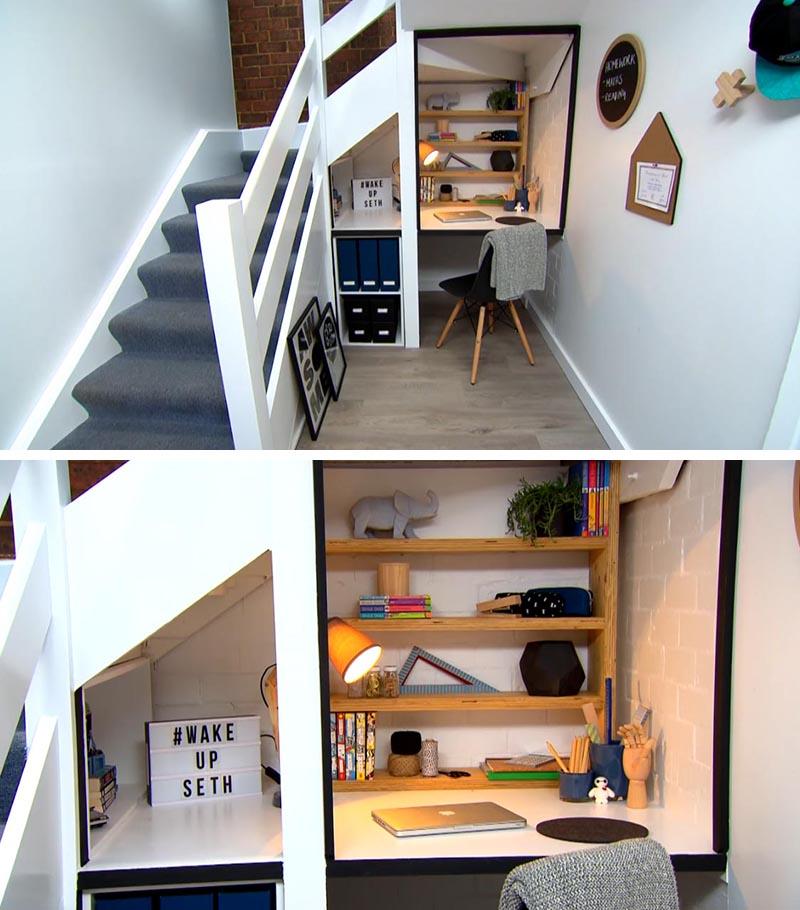 Antes y después hueco escaleras 4
