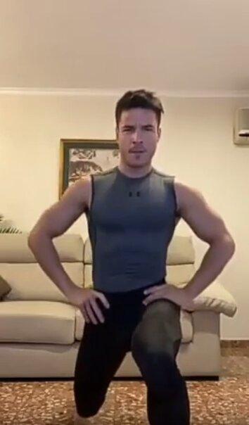 Alejandro Guardeño entrenamiento virtual