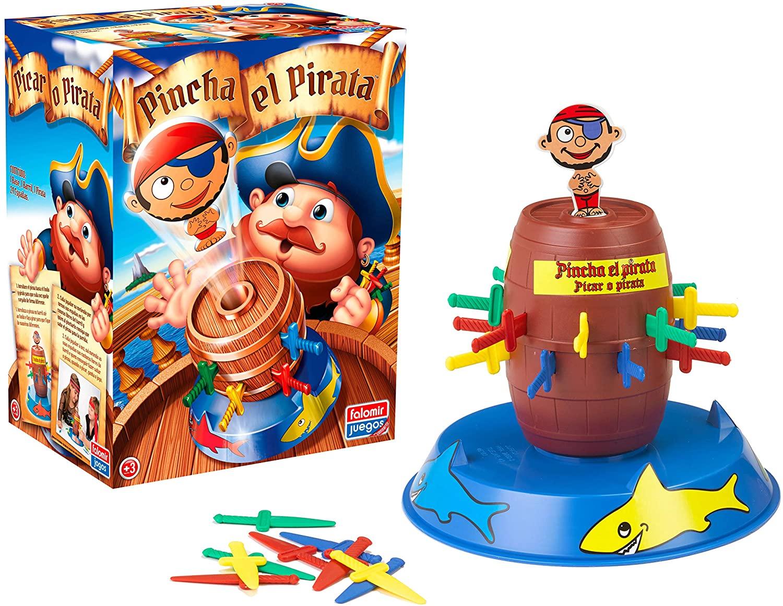 juguete barril pirata