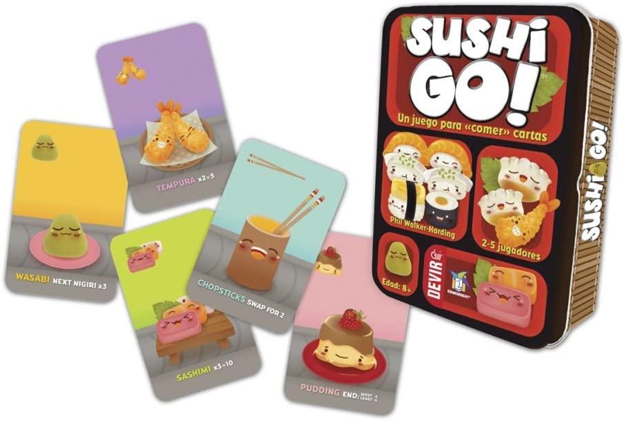 cartas de sushi go