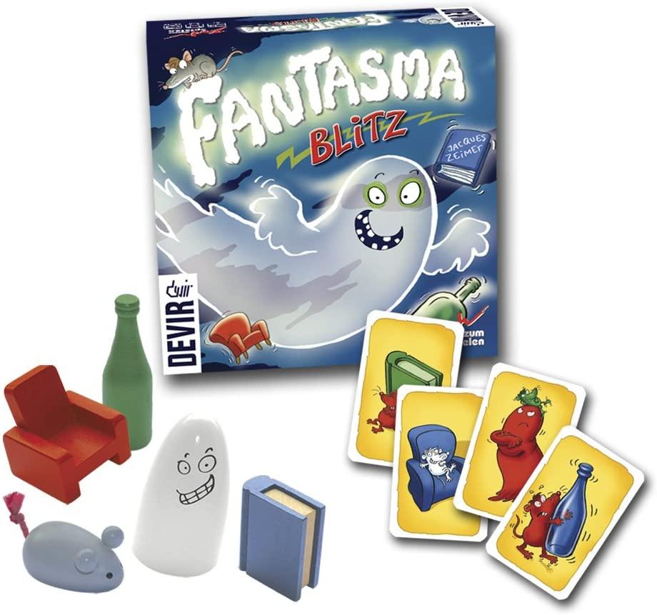 juego de mesa fantasmma