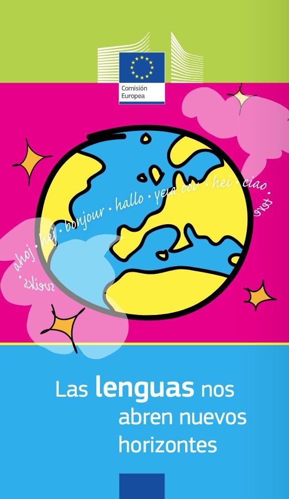 folleto Las lenguas nos abren nuevos horizontes