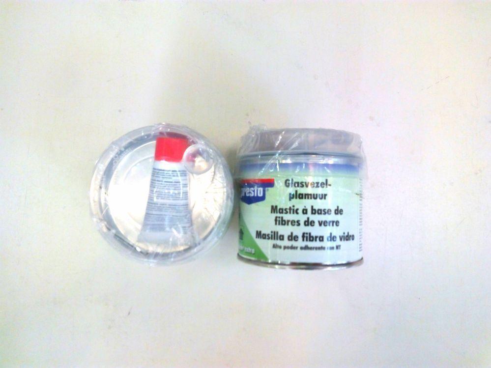 mascarilla de fibra de vidrio