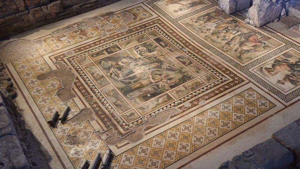 mosaico de pegaso Museum Hotel Antakya