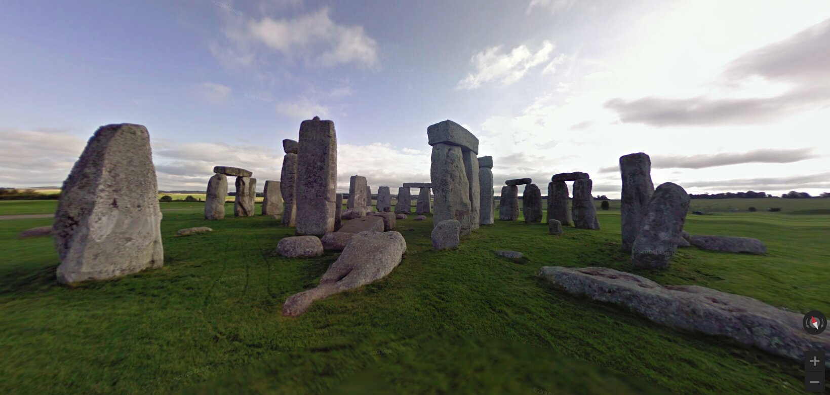 Recorrido virtual Stonehenge