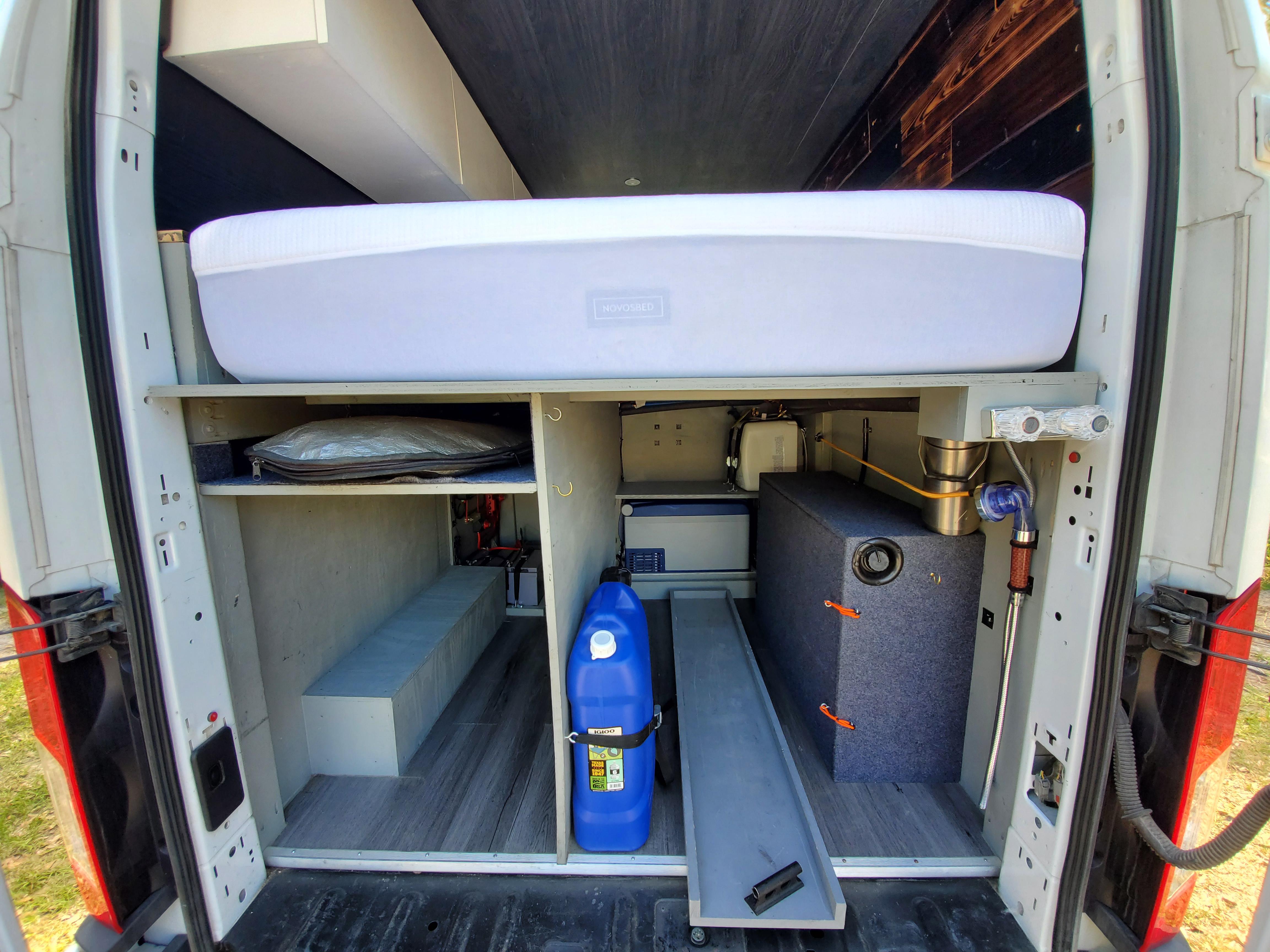 furgoneta caravana