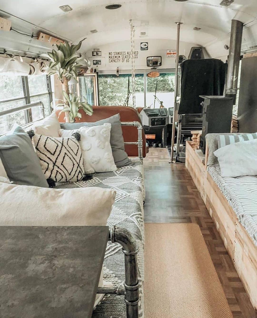 reconversión autobús