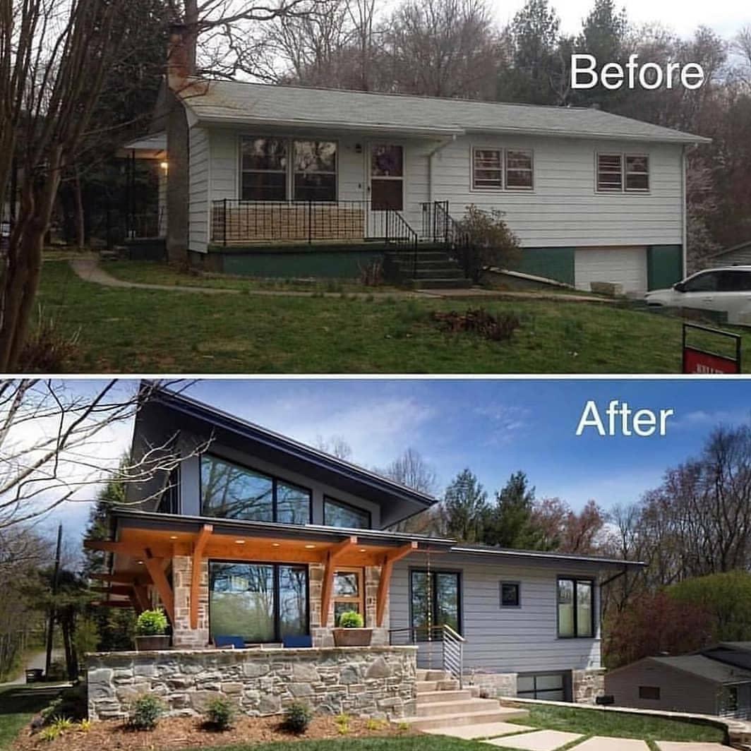 antes y después casas