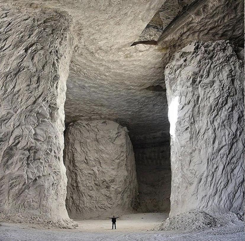Minas de sal de Garmsar, Irán