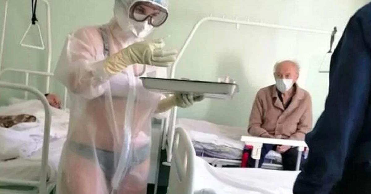 enfermera-banador