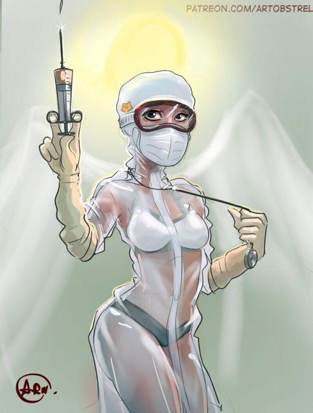 enfermera ropa interior 11