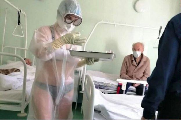 enfermera ropa interior 3