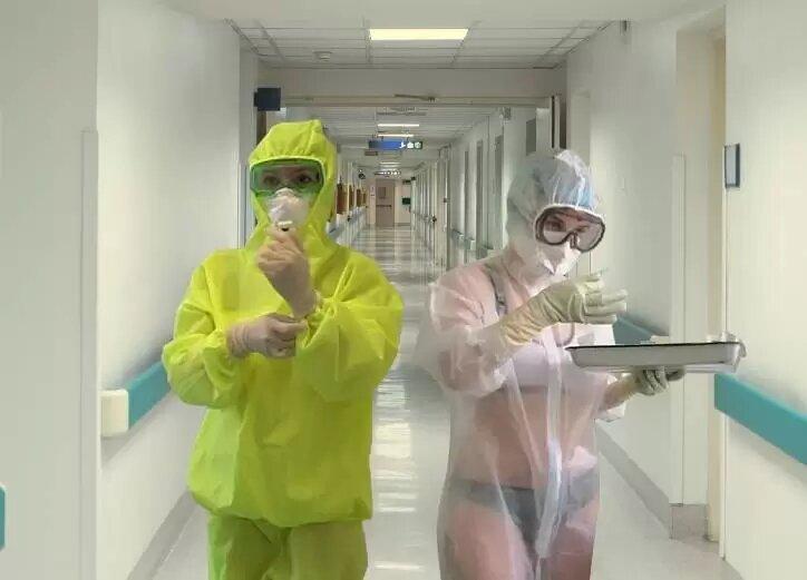 enfermera ropa interior 5