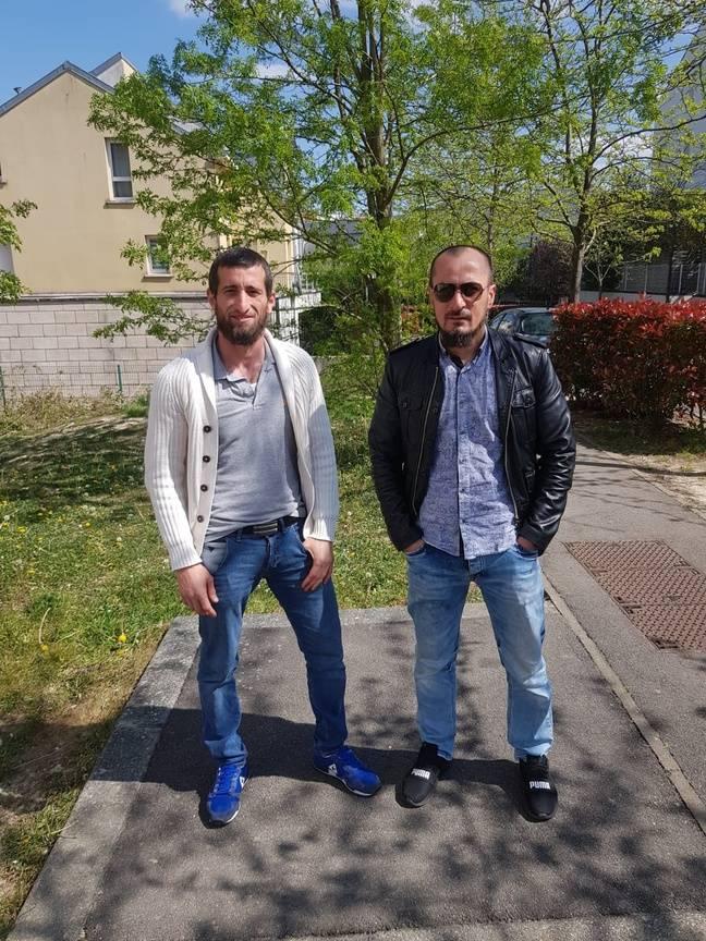 Dombaev Dzhambulat y Ouloubaev Aslan