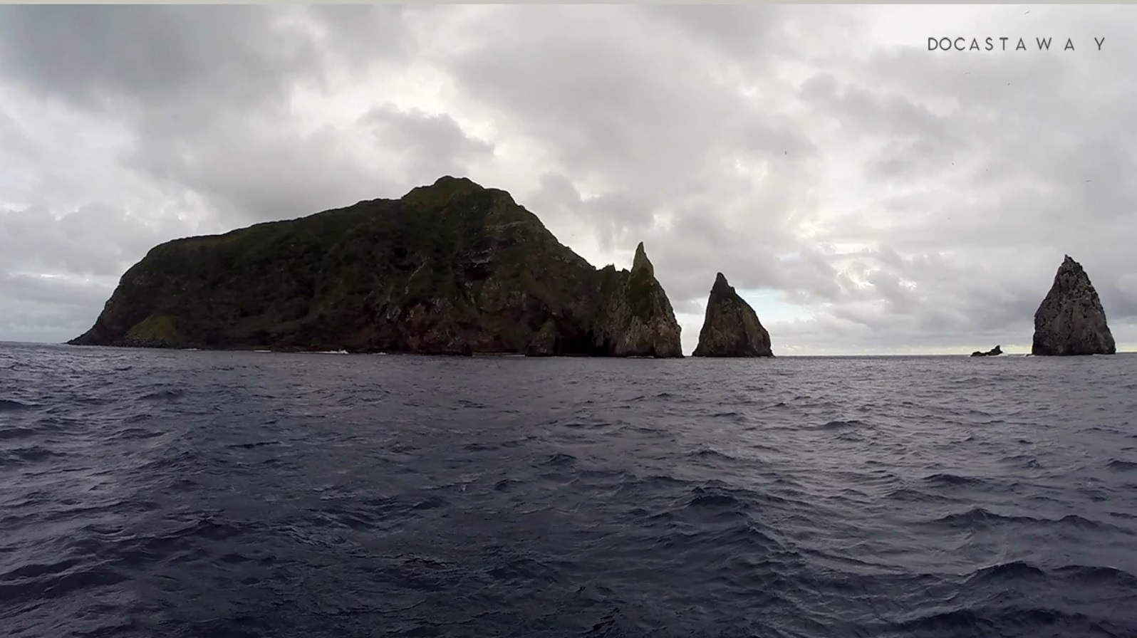 isla de perfil