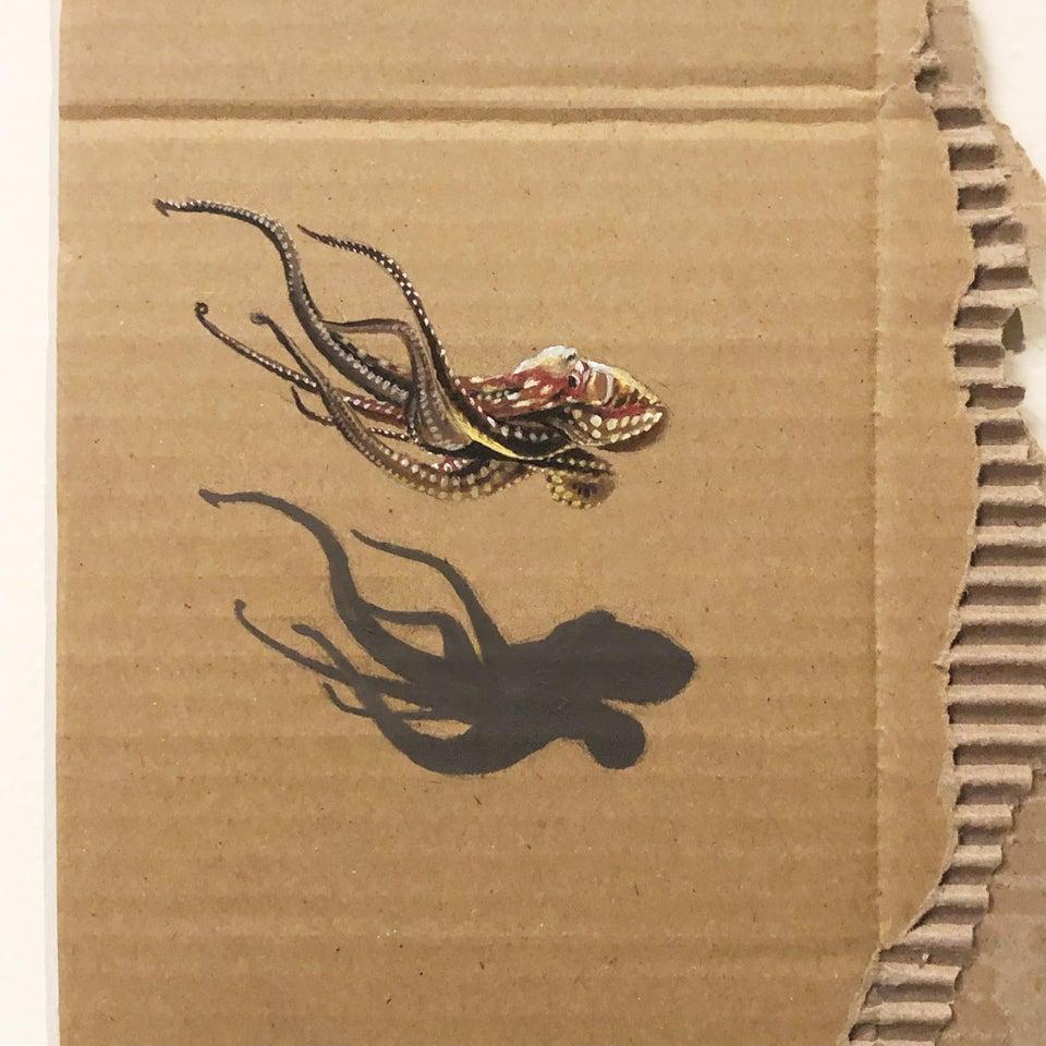 Artwork, octopus