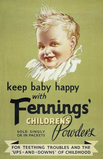 bebé feliz anuncio farmacia
