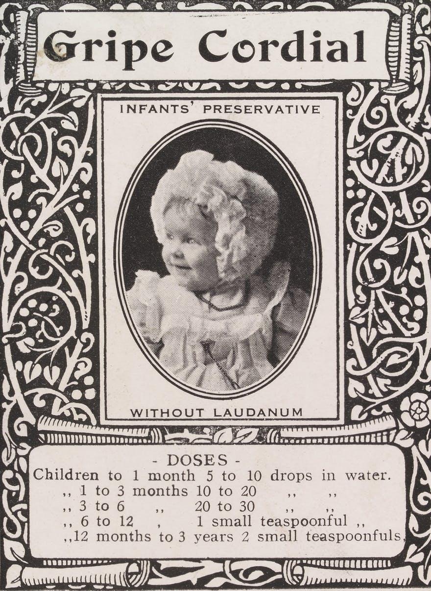 medicamento siglo xix niños