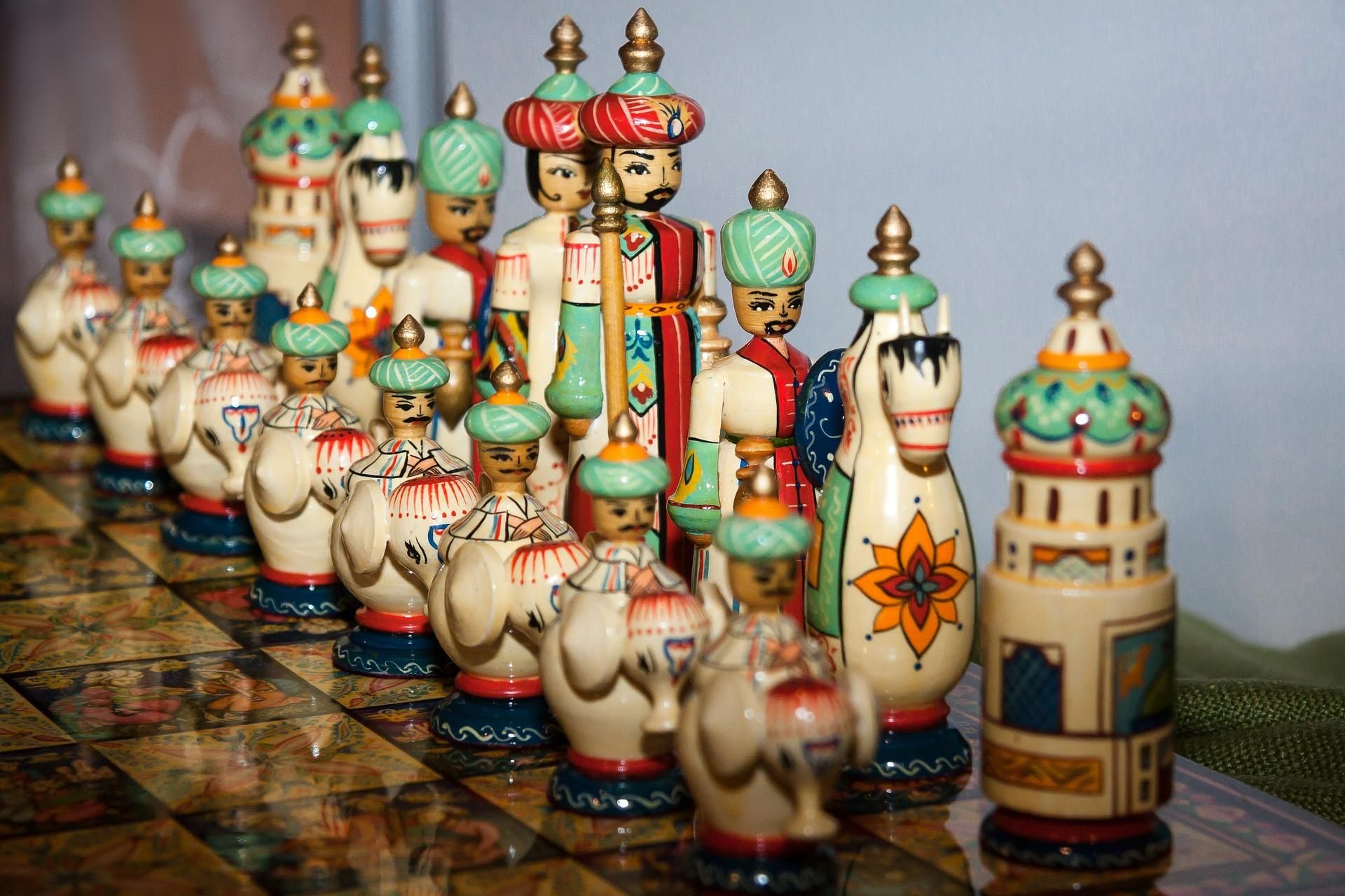 ajedrez reyes persas