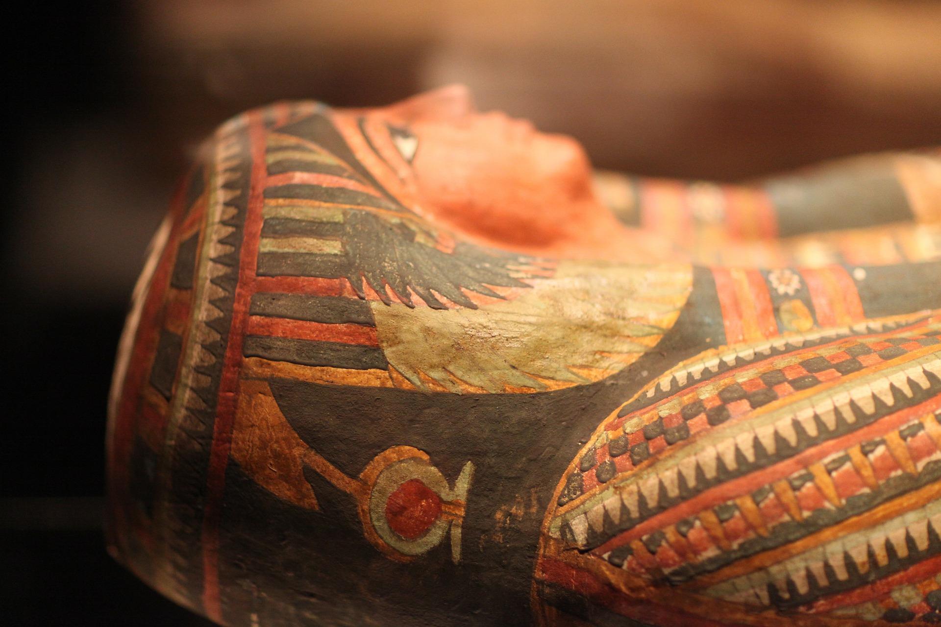 sarcófago momia