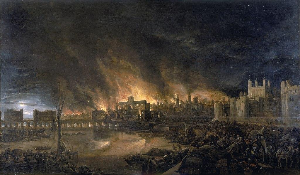 Incendio de Londres 1666