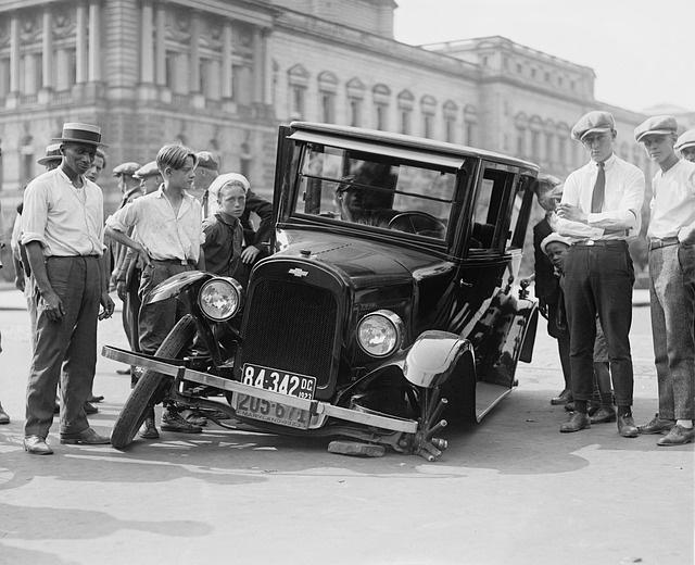 accidentes primeros automóviles
