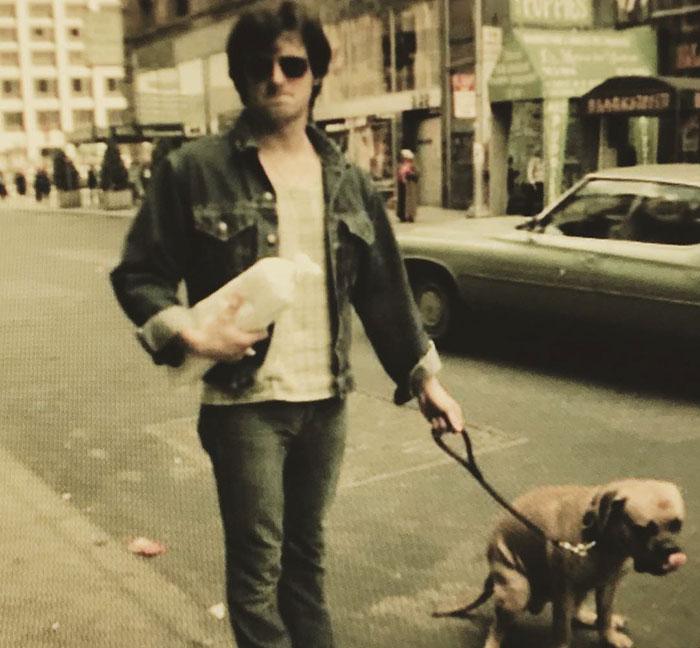 sylsvester stallone con perro